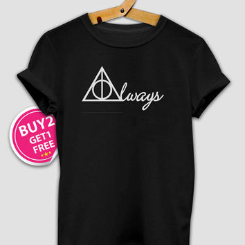Harry Potter Shirt Deathly Hallows tee - T Shirt Unisex - Size S-M-L-XL