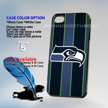 Seattle Seahawks, Photo Hard Plastic iPhone 5 Case Cover