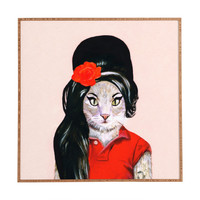 Coco de Paris Winehouse Cat Framed Wall Art
