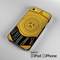 C3po Body Star Wars iPhone 4 4S 5 5S 5C 6, iPod Touch 4 5 Cases