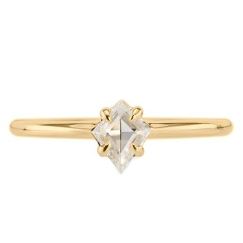 Geometric Jane Yellow Gold Ring