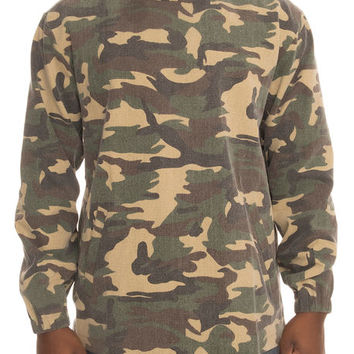 The Skriver Pullover Hoodie in Camo