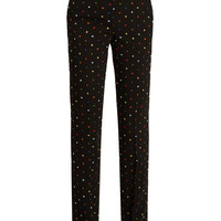 Micro-cross appliqué straight-leg cady trousers | Givenchy | MATCHESFASHION.COM UK