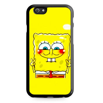 spongebob and patrick best friend 1 cartoon couple Iphone 5 Case