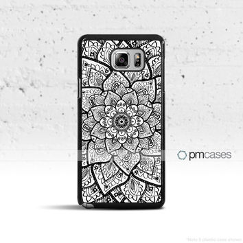 Mandala Flower Case Cover for Samsung Galaxy S5 S6 S7 S8 Plus Edge Active Note 4 5 7