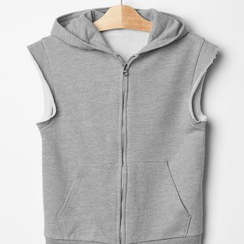 Gap Boys Sleeveless Hoodie Vest
