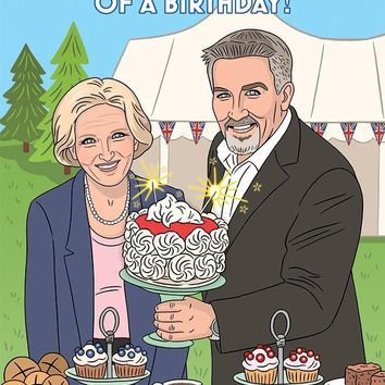 Have a Showstopper of a Birthday The Great British Baking Show Card