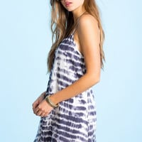 Tie Dye Shift Dress