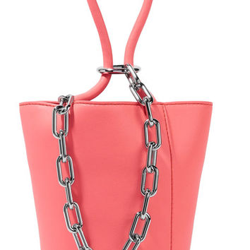 Alexander Wang - Roxy mini chain-embellished leather tote