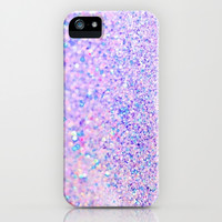 Faded Glitter iPhone & iPod Case by Pink Berry Pattern