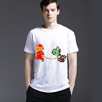 Tee Men's Fashion Cartoons Fashion Cotton Pattern Short Sleeve Casual Summer T-shirts = 6451790147