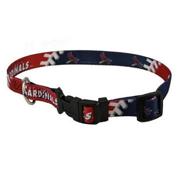 St. Louis Cardinals Dog Collar - Medium
