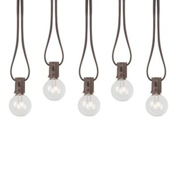 Decorative 20-Count Cafe String Lights from Bed Bath & Beyond