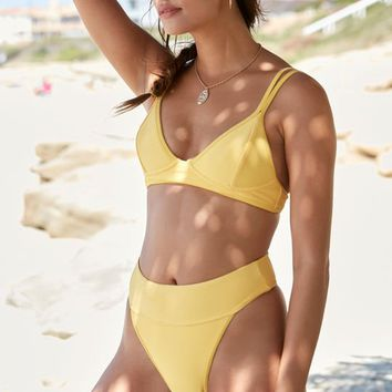 LA Hearts Sydney Ribbed Bralette Bikini Top at PacSun.com