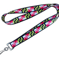 Maryland Flag Lanyard | Steez Teez