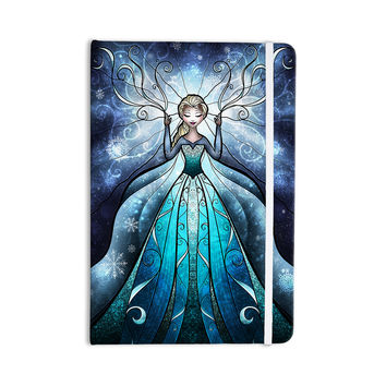 "Mandie Manzano ""The Snow Queen"" Frozen Everything Notebook"