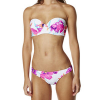 SURFSTITCH - WOMENS - SWIMWEAR - BIKINIS - ROXY SPRING FLING BUSTIA SURFER BIKINI - SEA SALT