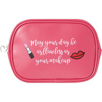 Kisses & Confidence Travel Cosmetic Bag | Ulta Beauty