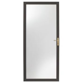 Andersen, 2000 Series 36 in. Bronze Fullview Storm Door, HD20FV-36BZ at The Home Depot - Mobile