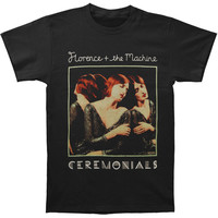 Florence + The Machine Men's  Ceremonials Slim Fit T-shirt Black Rockabilia