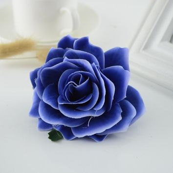 European Latex Rose Silk Artificial Flower Bridal Wedding Home Party Decoration Accessories Cosplay