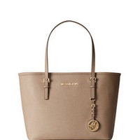Michael Michael Kors Small Jet Set Travel Saffiano Tote