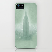New York Fantasy II iPhone & iPod Case by Guido Montañés