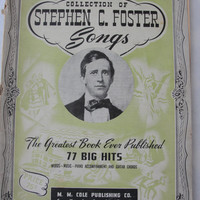 Vintage collection of Stephen C. Foster Songs