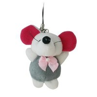 Gray Rat Phone Charm - N-CHP-RAT-GY