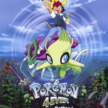 Pokemon 4ever 27x40 Movie Poster (2002)