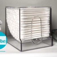 Qube 001 Qube Cotton Swab Dispenser