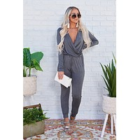 The Original Trendsetter Jumpsuit (Charcoal)