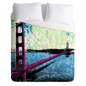 Amy Smith Golden Gate Duvet Cover