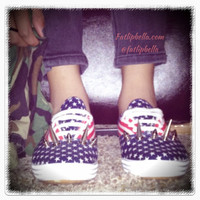 Rare 90's Vintage american flag stars and stripes by FatLipBella