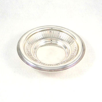 Antique Bailey Banks & Biddle Sterling Silver Candy Dish from 1910