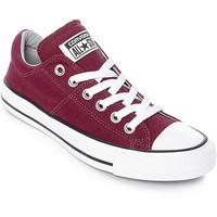 Converse Chuck Taylor All Star Ox Madison Burgundy & White Shoes | Zumiez
