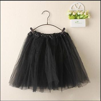 Women Cute Bubble Skirts Mini Skirts Tutu Pettiskirt Dancewear Party Skirts s72