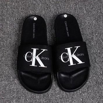 Calvin Klein Casual Fashion Women Sandal Slipper Shoes F-RELAX-XS