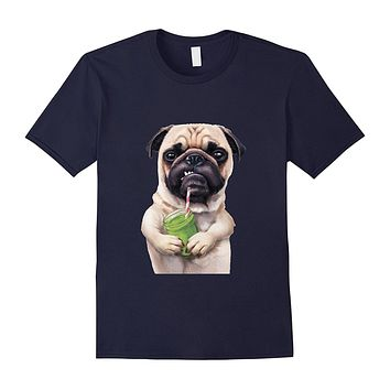 Pugs not Drugs Drinking Team Shirt Funny Gift Pug Dad Mom