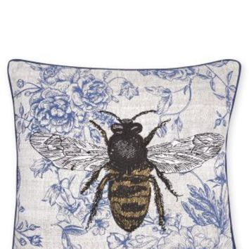 Buy Embroidered Wasp Cushion online today at Next: Deutschland