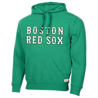 Stitches Boston Red Sox St. Patrick's Day Pullover Hoodie - Kelly Green