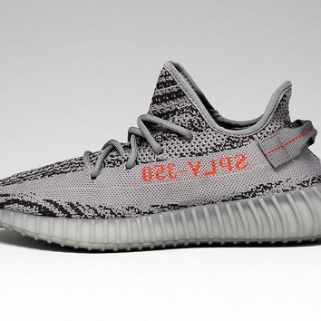 ADIDAS YEEZY BOOST 350 V2 GREY ORANGE BELUGA 2.0 AH2203