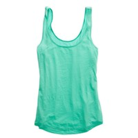 Aerie Women's Basic Loose Fit Tank (Mint Leaf)