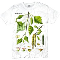 Vintage Birch Tree Graphic T-shirt