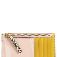 Tory Burch Colorblock Leather Card Case   Nordstrom
