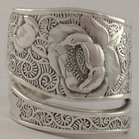 Size 9 Vintage Sterling Silver Towle Spoon Ring