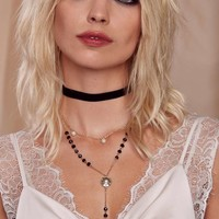 Kathryn Rosary Collar Necklace