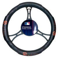 San Francisco Giants MLB Steering Wheel Cover (14.5 to 15.5)