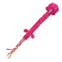 KONG Winders Tails Pink Otter Dog Toy 3ft