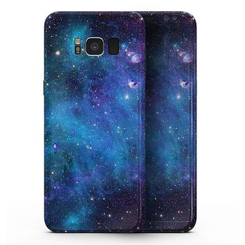 Azure Nebula - Samsung Galaxy S8 Full-Body Skin Kit